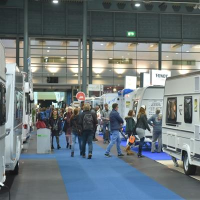 Caravan Bremen - Exhibition hall