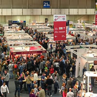 International Wine Exhibition Berlin - Exhibition hall