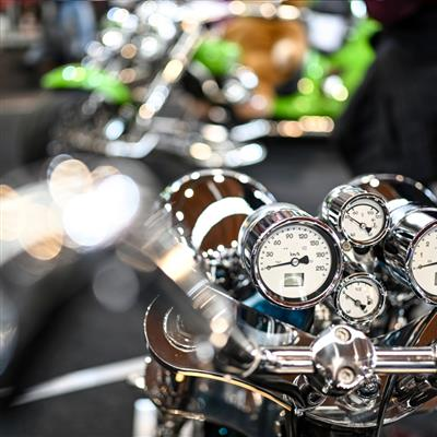 Motor Cycle and Accessories Exhibition - Impressions