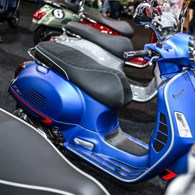 Motor Cycle and Accessories Exhibition - Scooters