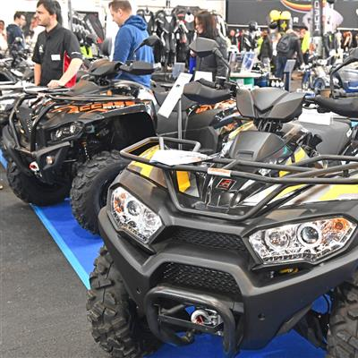 Motor Cycle and Accessories Exhibition - Quads