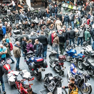 Motor Cycle and Accessories Exhibition´- Market for secondhand motorcycles