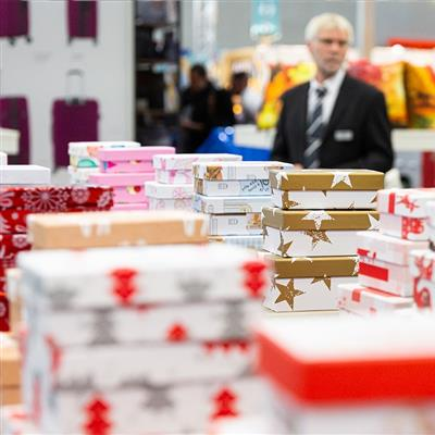 IAW - International Trade Fair for Retail Promotions and Imports - Gift packaging