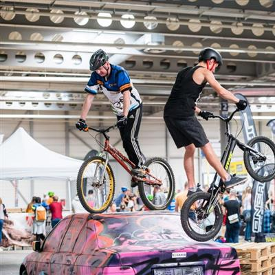 Trade Fair for Leisure and Outdoor Sports - Cycles