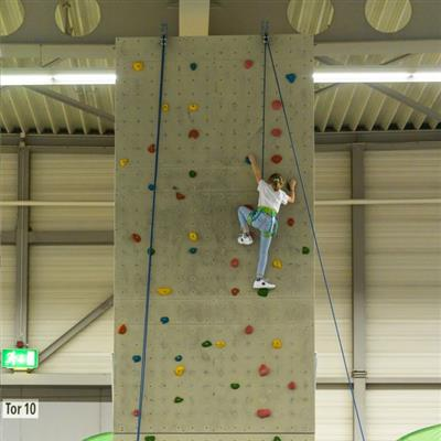 Trade Fair for Leisure and Outdoor Sports - Climbing wall
