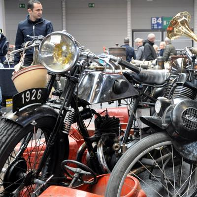 The Classic Sales and Event Show for Vintage Cars and Motorbikes, Boats and Airplanes - Motorcycles