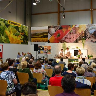 Exhibition for Quality of Life and Leisure - Live cooking
