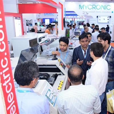 productronica India - Messebesucher