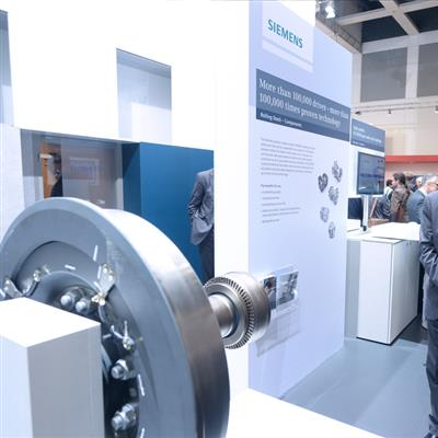 InnoTrans Berlin - Messestand Siemens AG