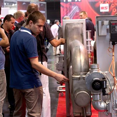 THERMPROCESS Düsseldorf Heating Conveying and drive technology