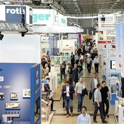 Moulding Expo - exhibition hall