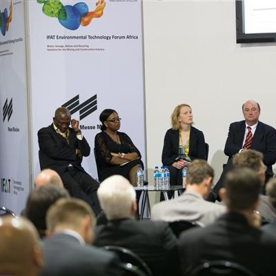 IFAT Environmental Technology Forum Africa Johannesburg Water, Sewage, Refuse and Recycling