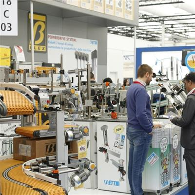 components FOR PROCESSING AND PACKAGING Düsseldorf - Messeimpression
