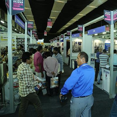CRAFT DRINKS INDIA - Exhibition hall
