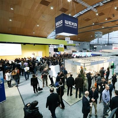 LEARNTEC Karlsruhe - exhibition hall