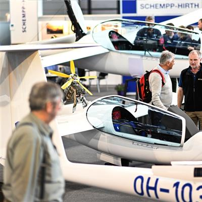 International Trade Show for General Aviation - Glider